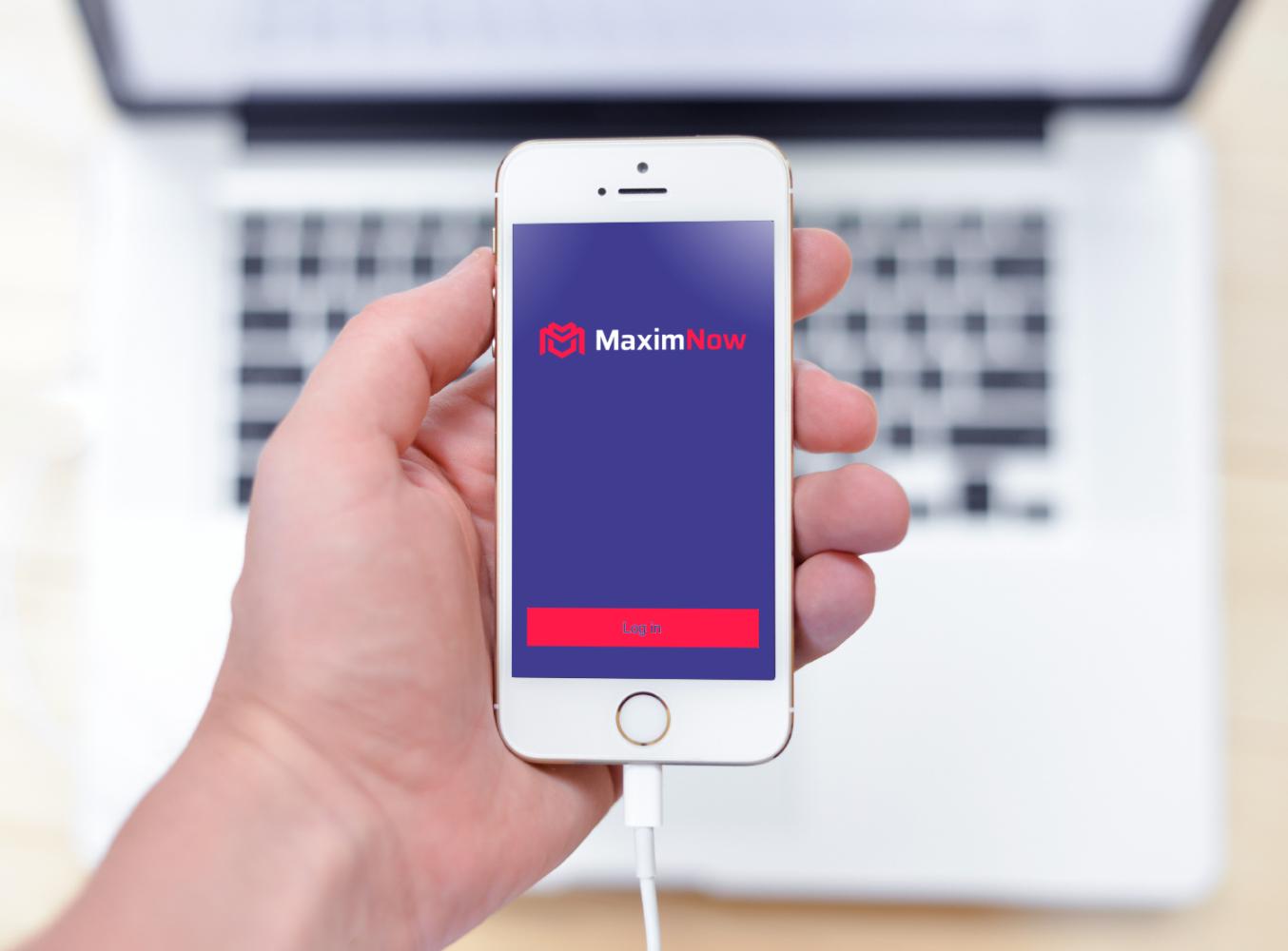 Sample branding #2 for Maximnow
