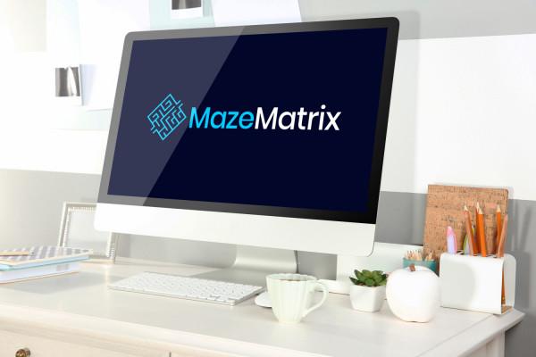 Sample branding #2 for Mazematrix