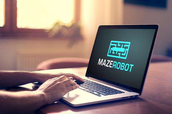 Sample branding #3 for Mazerobot