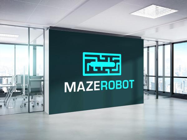 Sample branding #1 for Mazerobot