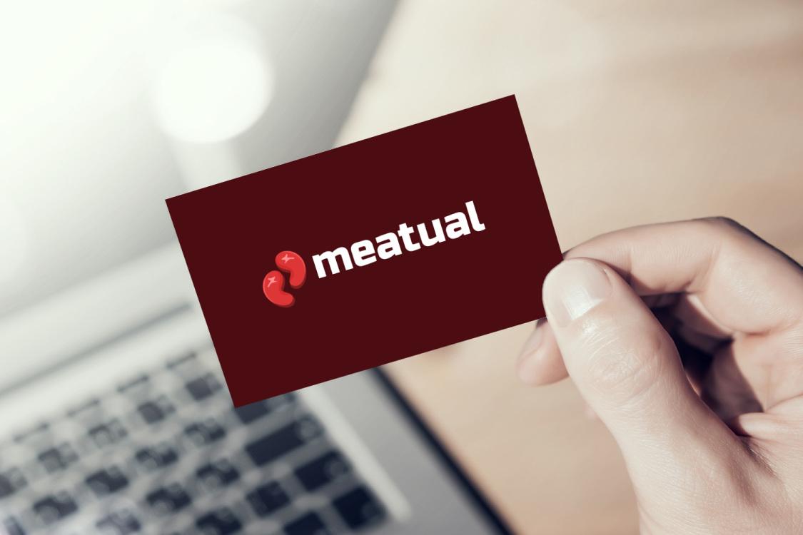 Sample branding #1 for Meatual