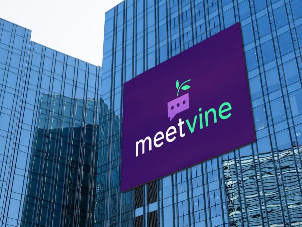 Sample branding #2 for Meetvine
