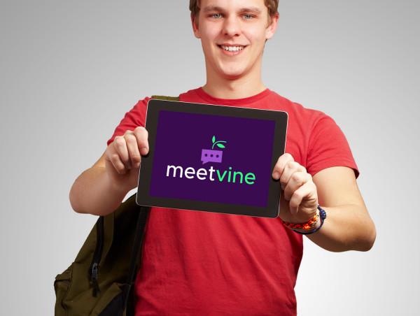 Sample branding #1 for Meetvine