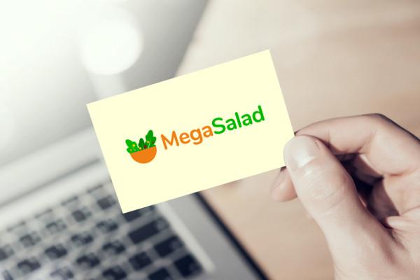 Sample branding #2 for Megasalad