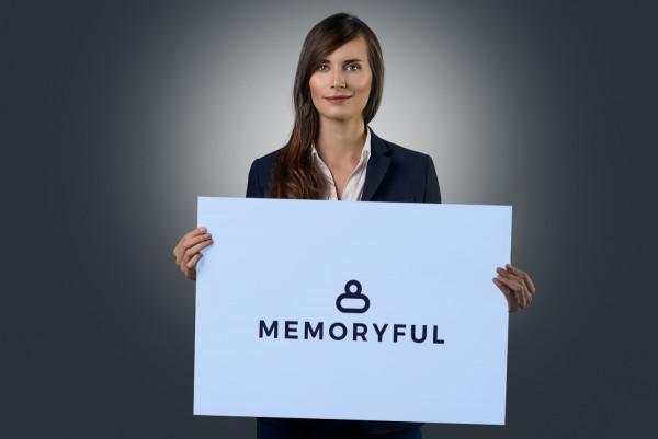 Sample branding #1 for Memoryful
