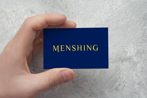 Sample branding #1 for Menshing