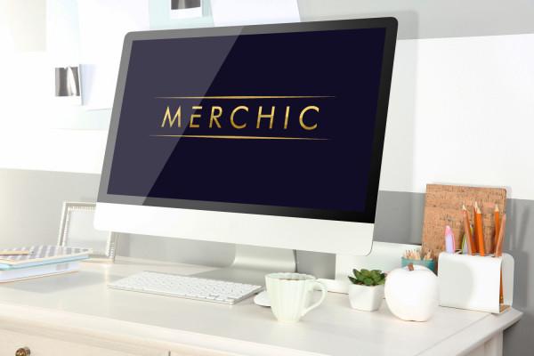 Sample branding #1 for Merchic