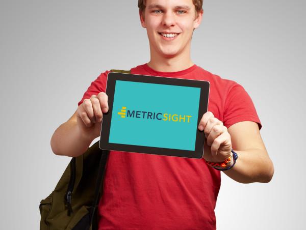 Sample branding #1 for Metricsight