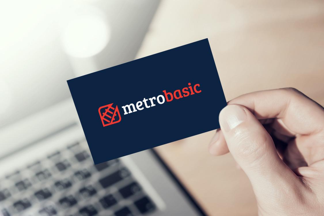 Sample branding #3 for Metrobasic
