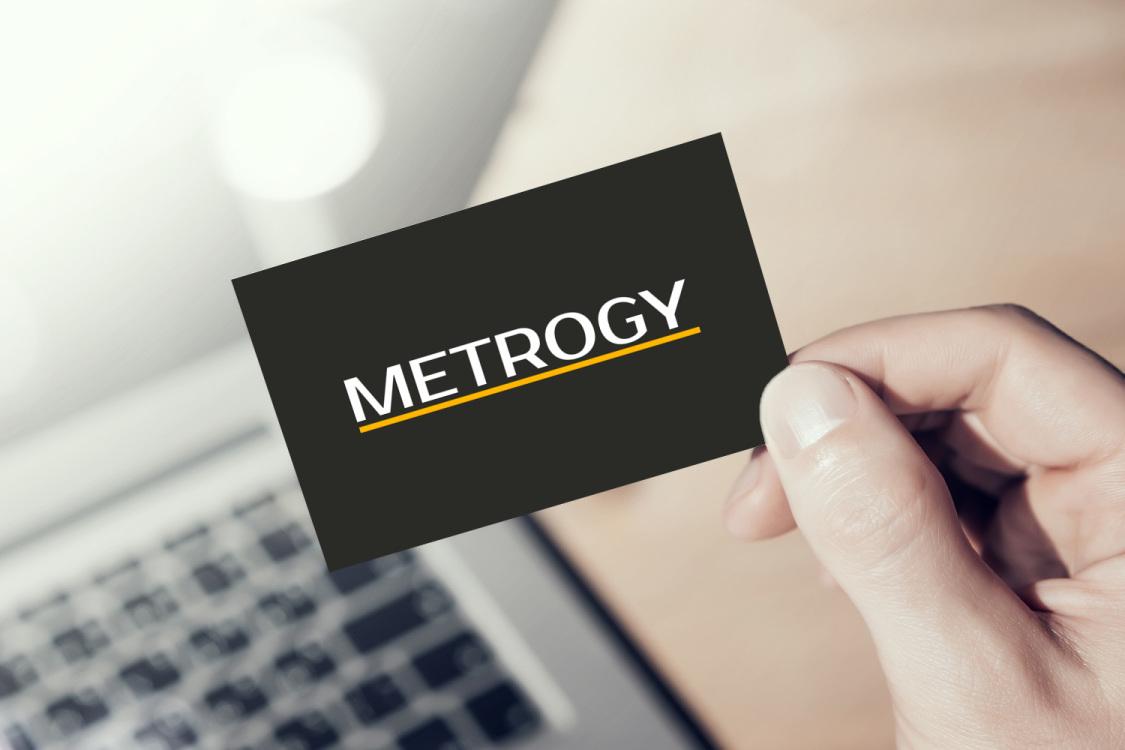 Sample branding #1 for Metrogy