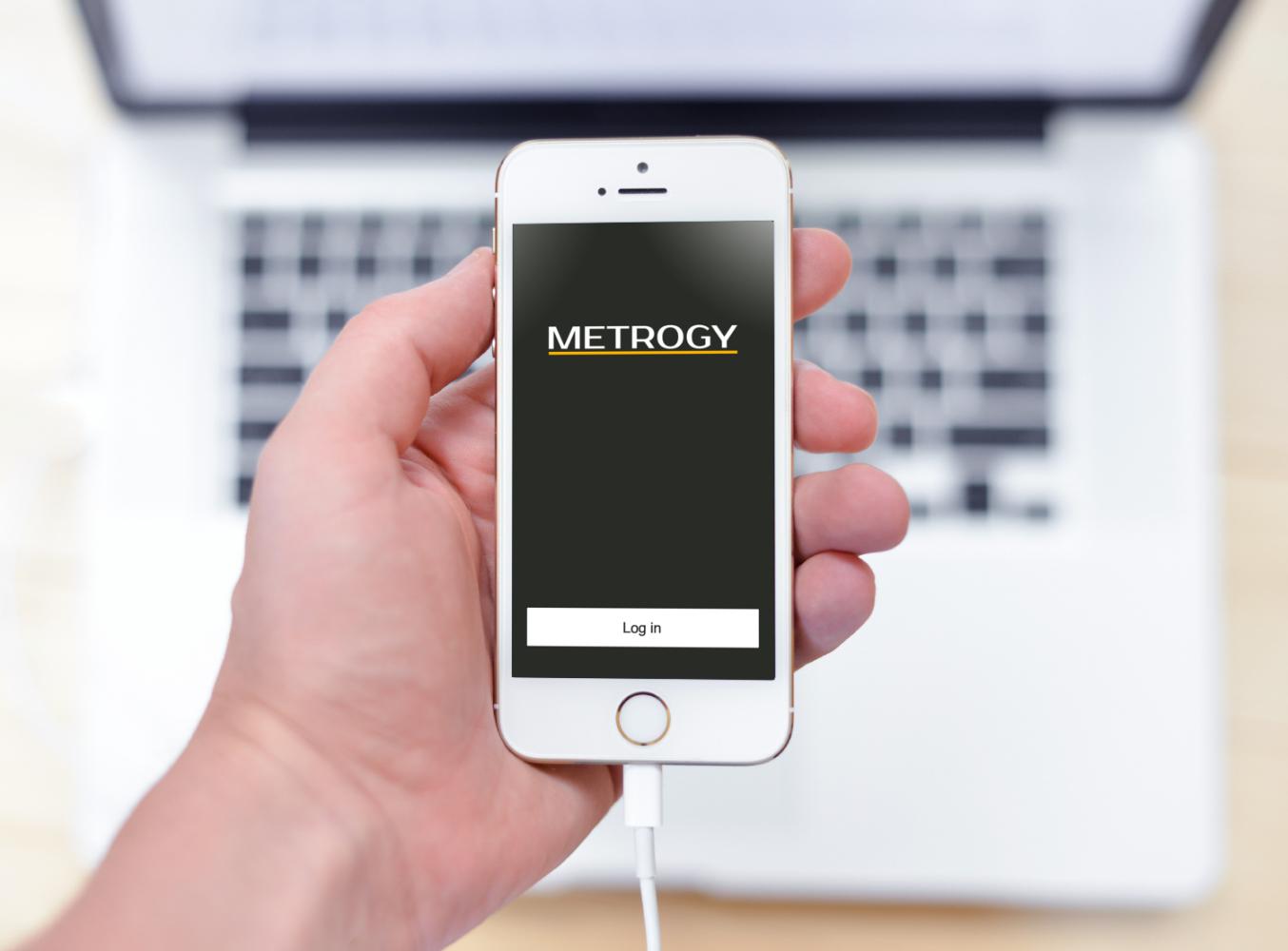 Sample branding #3 for Metrogy