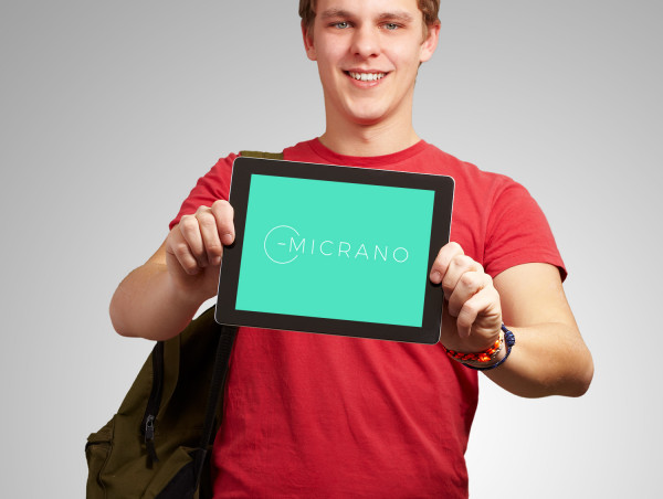 Sample branding #1 for Micrano