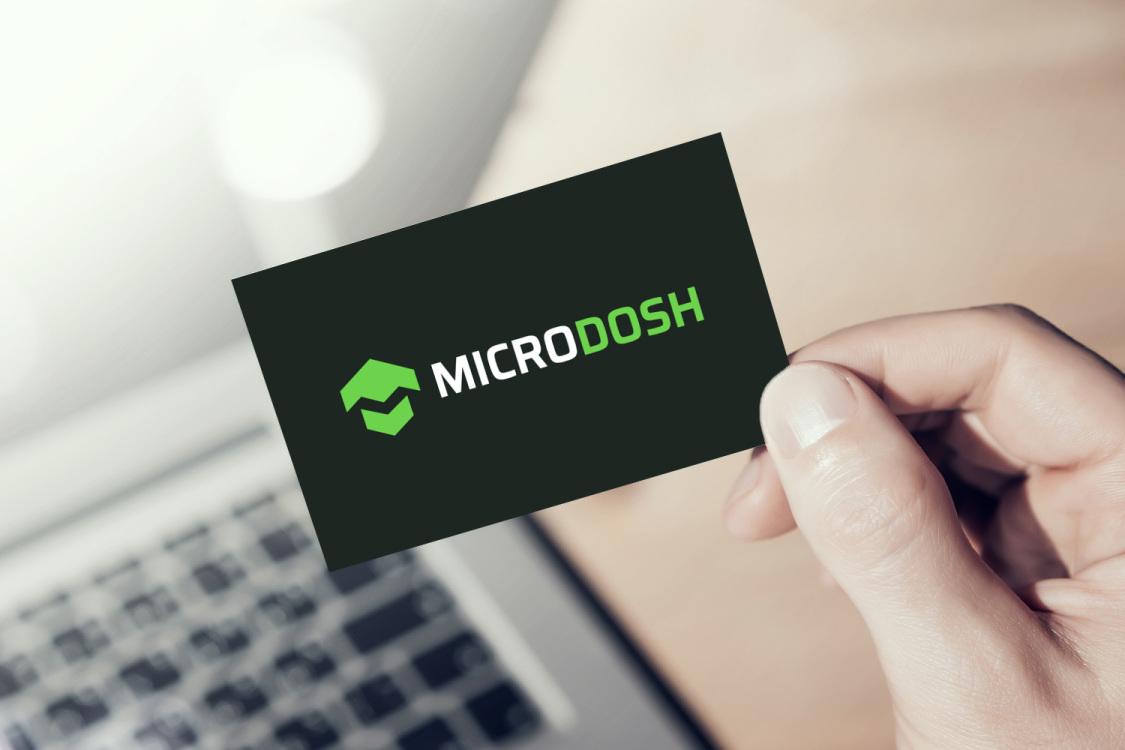 Sample branding #2 for Microdosh