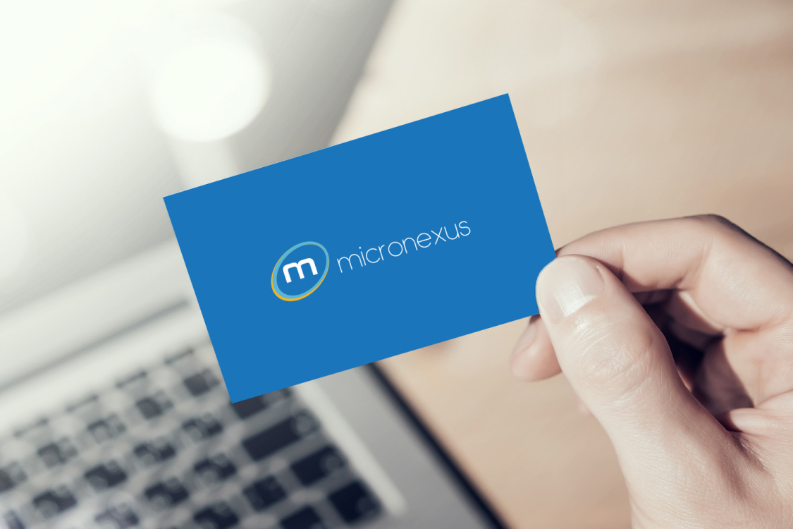 Sample branding #3 for Micronexus