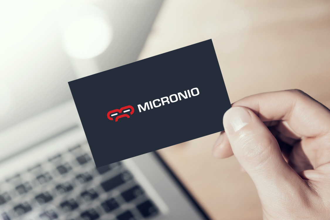 Sample branding #2 for Micronio