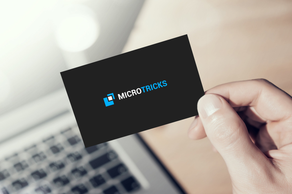 Sample branding #1 for Microtricks