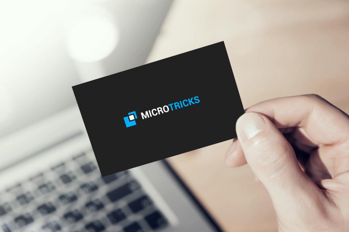 Sample branding #3 for Microtricks