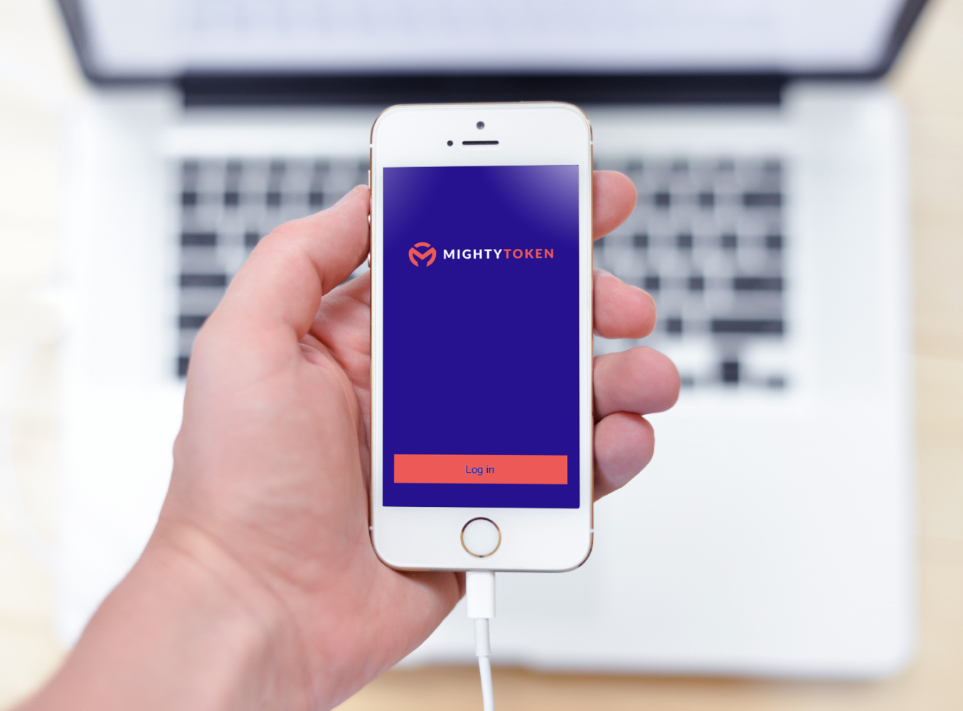 Sample branding #3 for Mightytoken