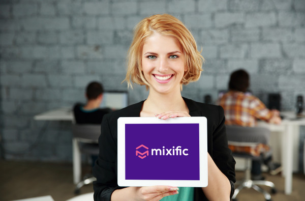 Sample branding #2 for Mixific