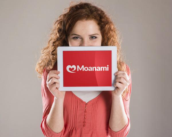 Sample branding #3 for Moanami