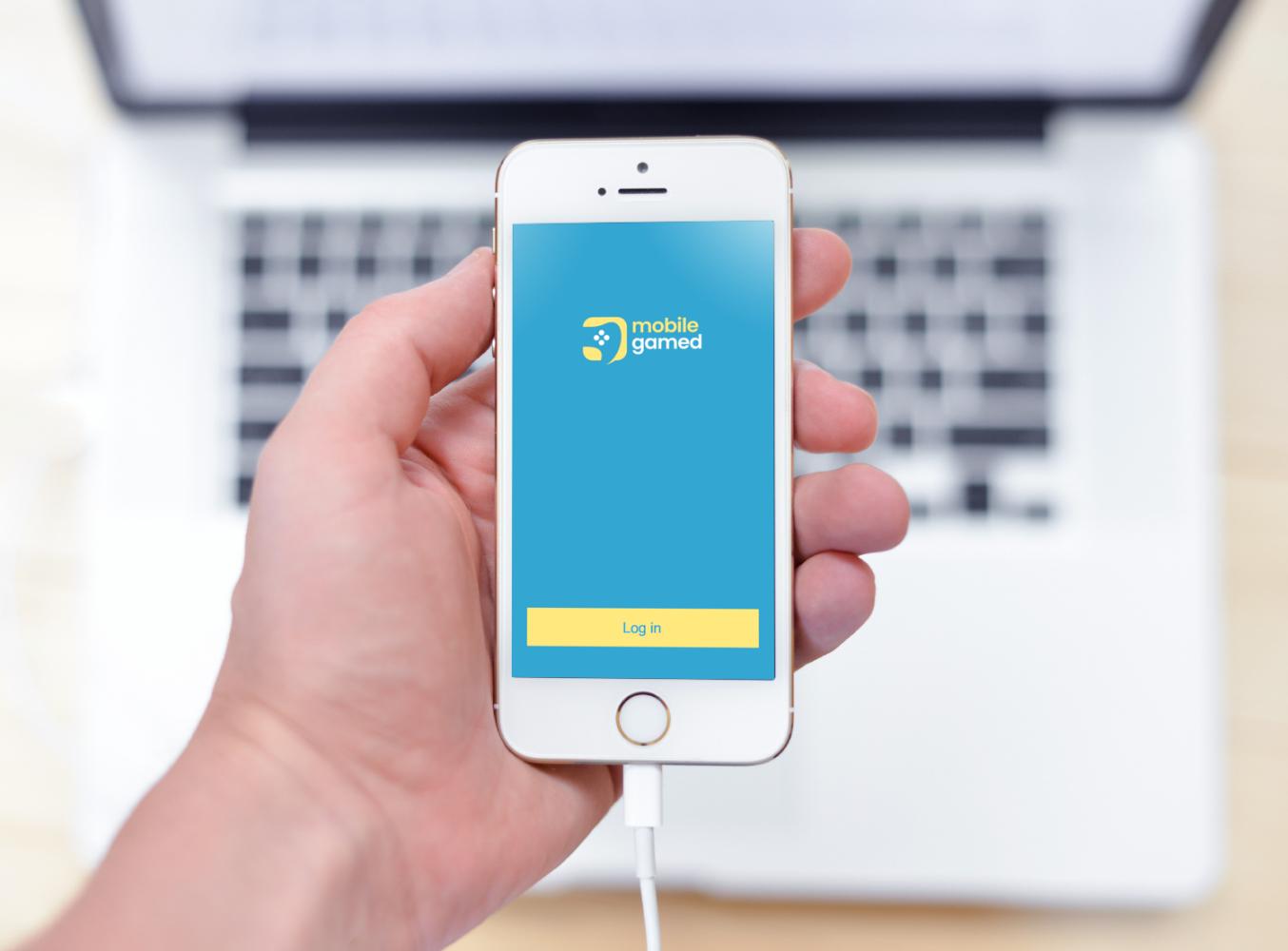 Sample branding #2 for Mobilegamed