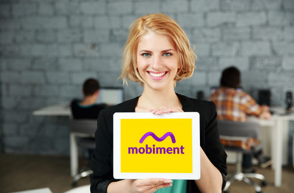 Sample branding #2 for Mobiment