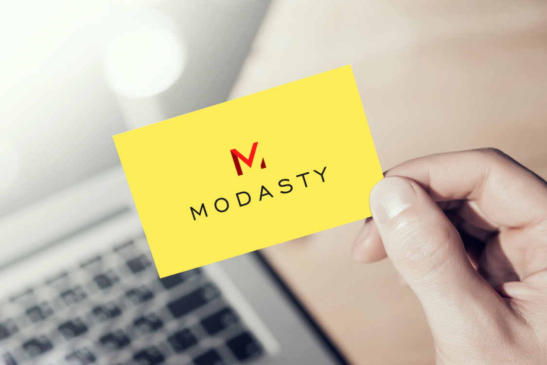 Sample branding #3 for Modasty