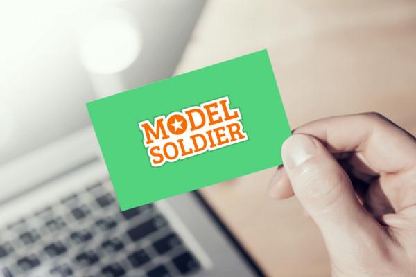 Sample branding #2 for Modelsoldier
