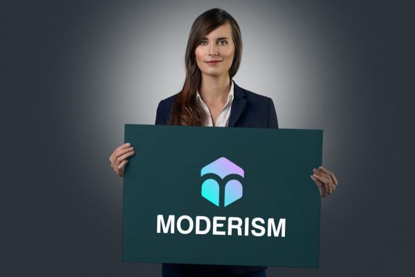 Sample branding #3 for Moderism
