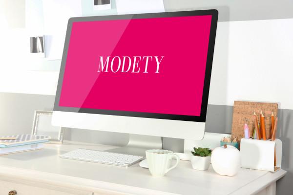 Sample branding #1 for Modety