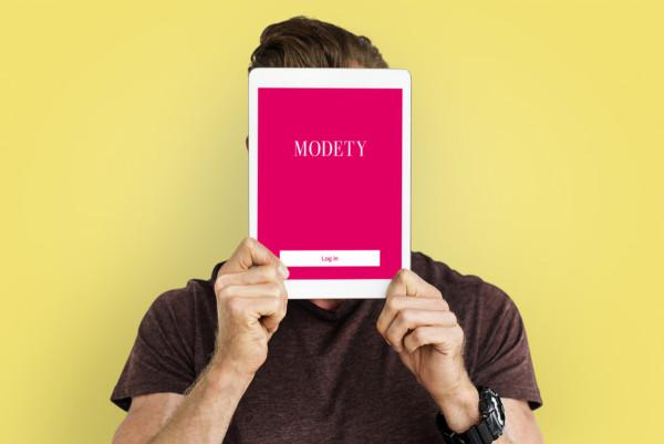 Sample branding #3 for Modety