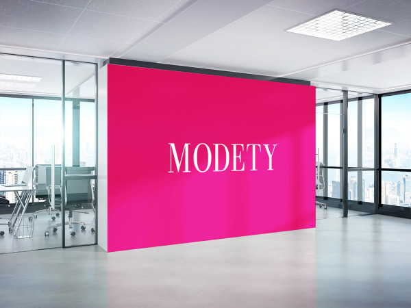 Sample branding #2 for Modety
