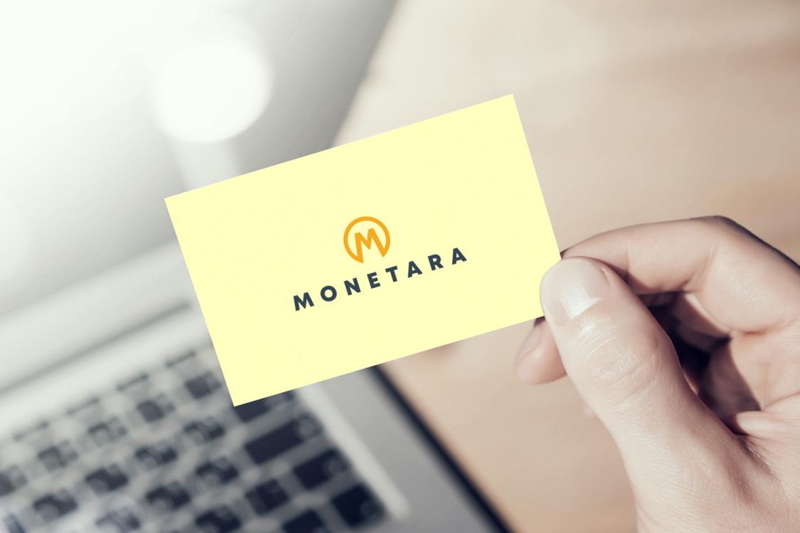 Sample branding #1 for Monetara
