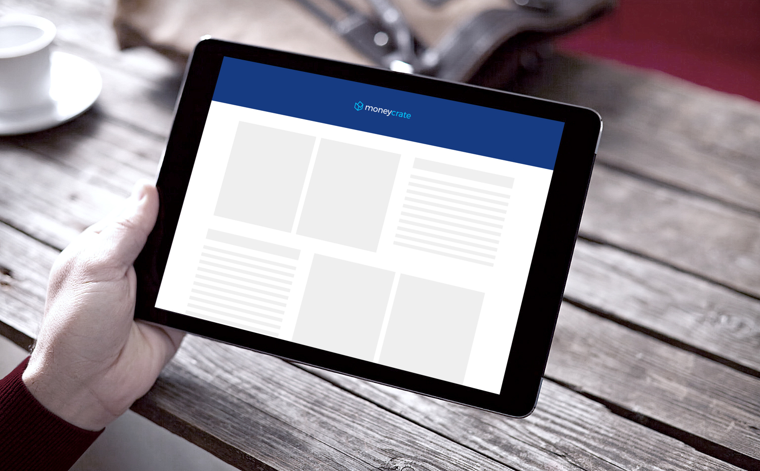 Sample branding #1 for Moneycrate