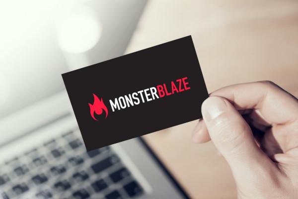 Sample branding #2 for Monsterblaze