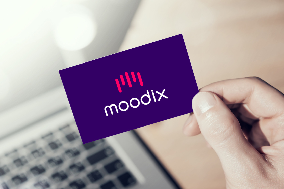 Sample branding #1 for Moodix