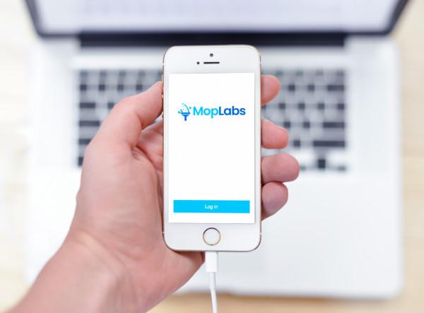 Sample branding #1 for Moplabs