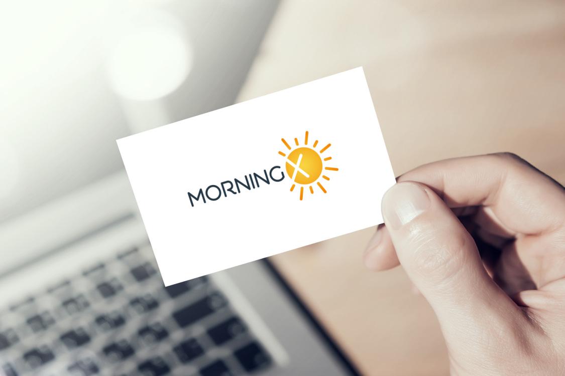 Sample branding #1 for Morningx