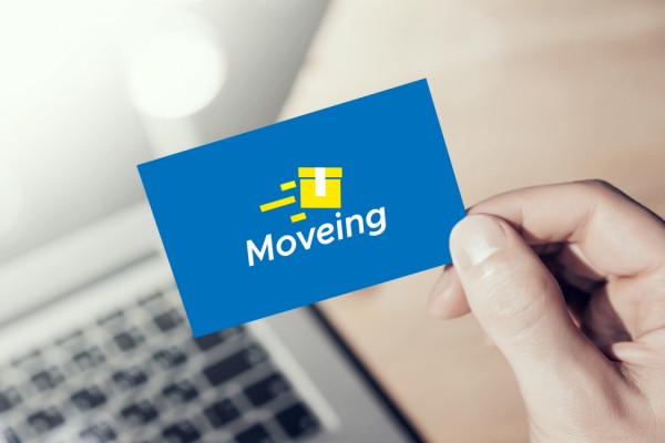Sample branding #2 for Moveing