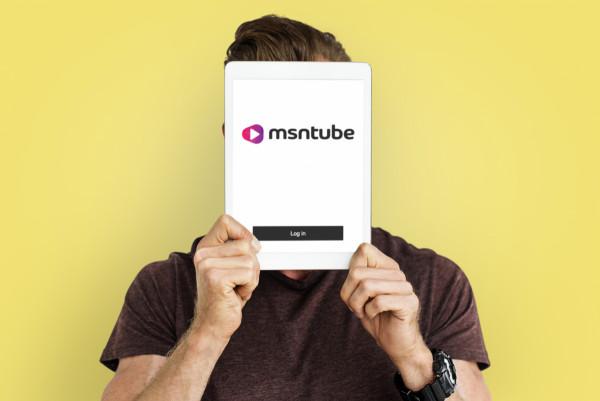 Sample branding #2 for Msntube