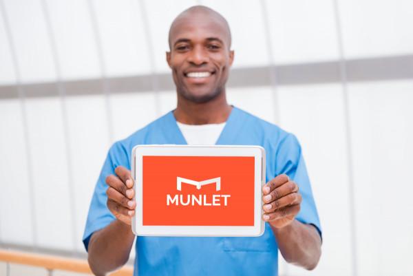 Sample branding #2 for Munlet