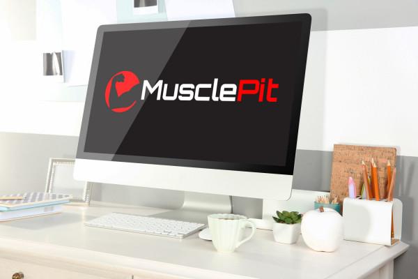 Sample branding #1 for Musclepit