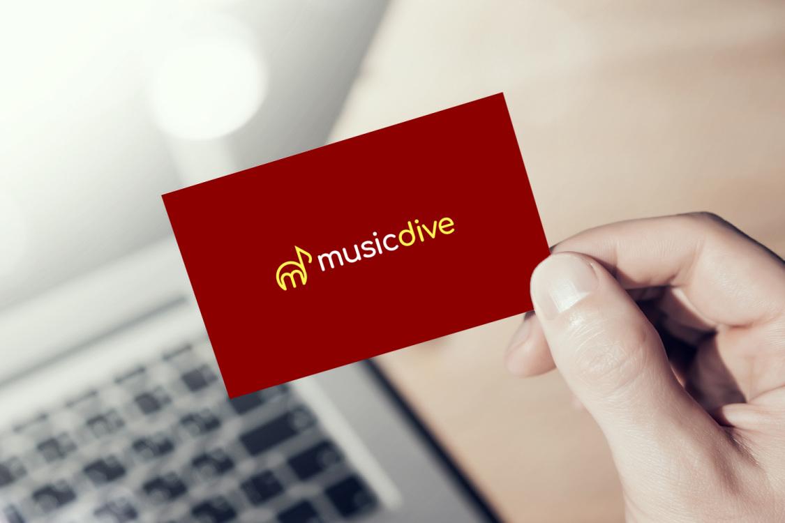 Sample branding #2 for Musicdive