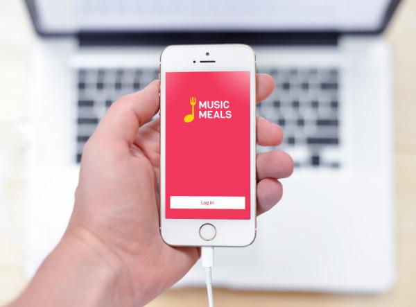 Sample branding #2 for Musicmeals
