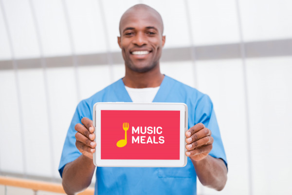 Sample branding #1 for Musicmeals