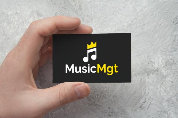 Sample branding #1 for Musicmgt