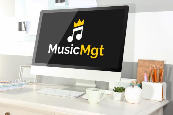 Sample branding #3 for Musicmgt