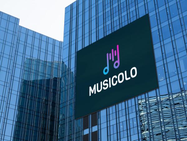 Sample branding #2 for Musicolo
