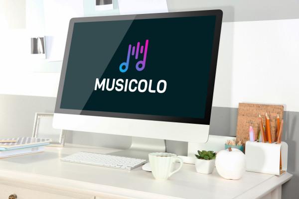 Sample branding #3 for Musicolo
