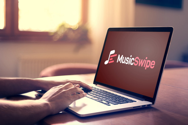 Sample branding #3 for Musicswipe
